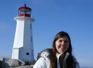 Visita ao farol símbolo da Nova Scotia